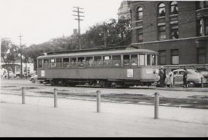 Winnipeg streetcar 414