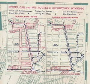 Streetcar and Bus Trolley routes